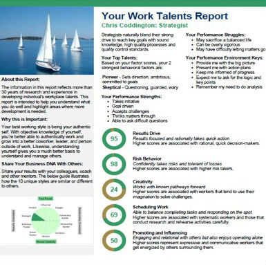 WOrk Talents Reports