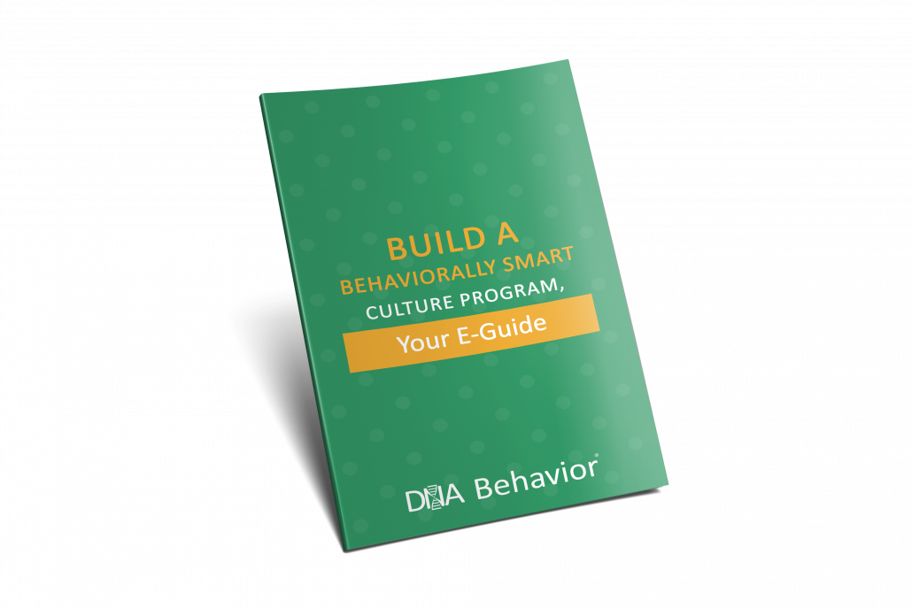 Build A Behaviorally Smart Culture Program Your eGuide